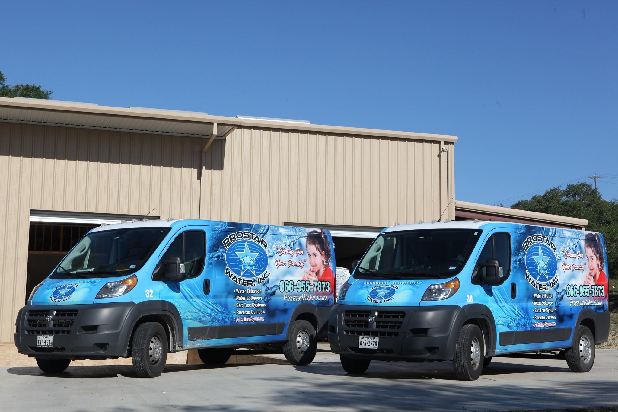 Prostar Water Vans